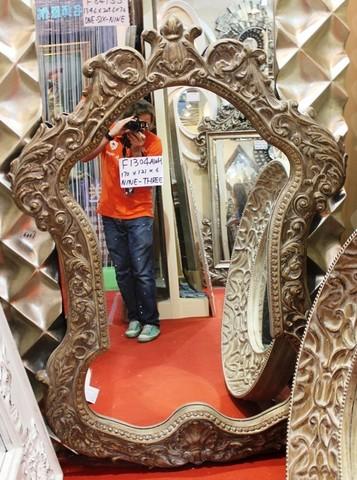 зеркало в деревянной раме 01-69 ( MAGIC MIRROR )