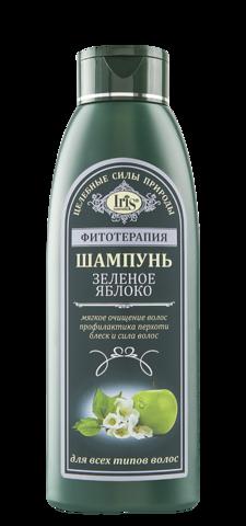 Iris Фитотерапия Шампунь Зеленое яблоко 500 мл