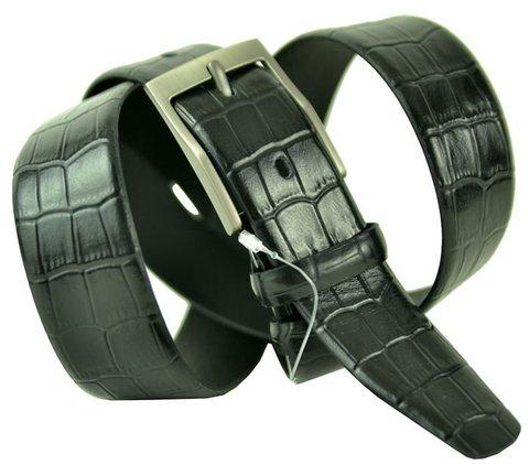 Ремень кожаный брючный 35 мм из кожи 35oscar-056