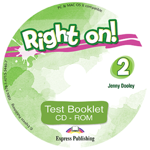 Right on! 2. Test booklet CD-ROM (international). Сборник тестовых заданий  CD-ROM