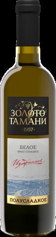 Вино столовое полусладкое белое