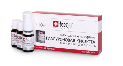 Tete Hyaluronic acid & Algae Extract - Гиалуроновая кислота + Микроводоросль