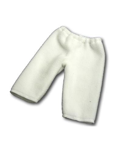 Флисовые рейтузы - Белый. Одежда для кукол, пупсов и мягких игрушек.