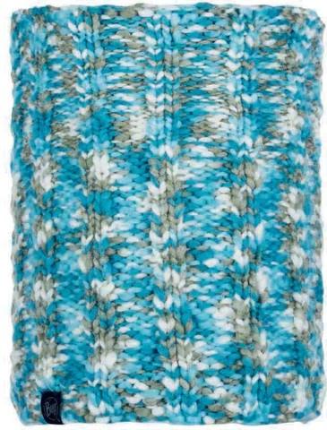 Шарф-труба вязаный с флисом Buff Neckwarmer Knitted Polar Livy Aqua