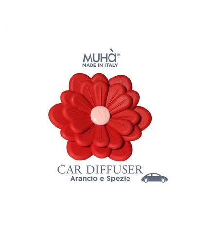 Автомобильный диффузор Цветок Апельсин и итальянские специи, Muha