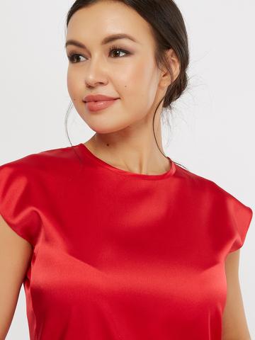 Блузка шелковая