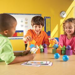 Развиваем внимание и память с игрой Ментал блокс Learning Resources