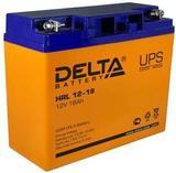 Аккумулятор DELTA HRL 12-18 ( 12V 18Ah / 12В 18Ач ) - фотография