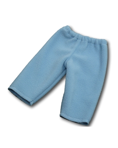 Флисовые рейтузы - Голубой. Одежда для кукол, пупсов и мягких игрушек.