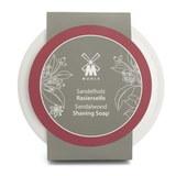 Твердое мыло для бритья MUEHLE в фарфоровой чаше, Сандал, 65 гр (RN 2 SH)
