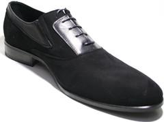 Замшевые туфли мужские осфорды IKOC черные