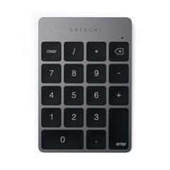 Беспроводной цифровой блок клавиатуры  Satechi Aluminum Slim Keypad Numpad, серый космос