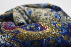 Шарф голубых оттенков в Русском стиле фото 3