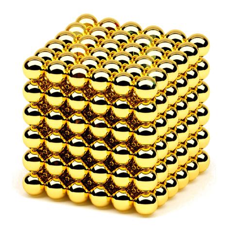 Неокуб (Neocube) Золото 216 шариков (5 мм)