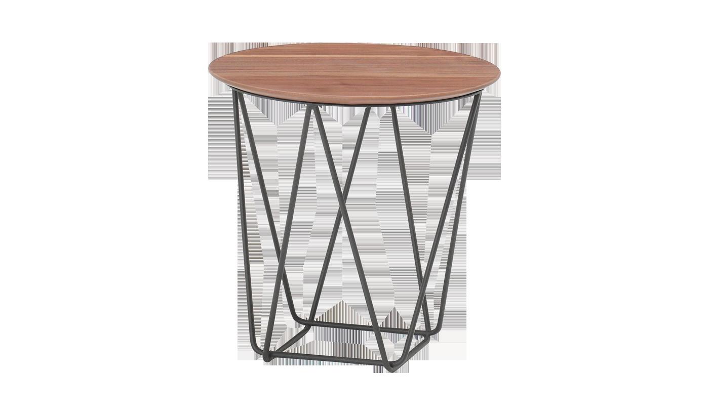 Приставной кофейный столик Vals орех