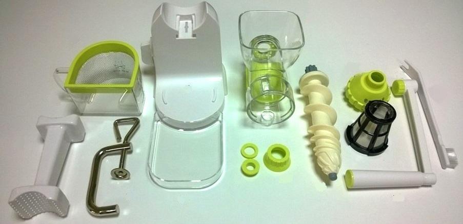 Соковыжималка ручная шнековая RawMID Dream Juicer Manual DJM-02