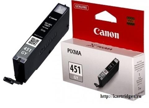Картридж Canon CLI-451 GY / 6527B001
