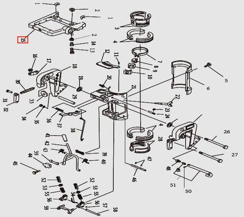 Ручка переноски мотора для лодочного мотора T9.8 Sea-PRO (11-15)