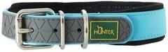 Ошейник для собак Hunter Convenience Comfort 55 (42-50 см)/2,5 см биотановый с мягкой горловиной бирюзовый