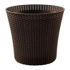 Кашпо садовое плетеное Keter Conic Planter 57L