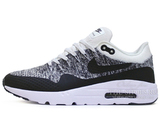 Кроссовки Мужские Nike Air Max 1 Hyper Flyknit Grey Black White
