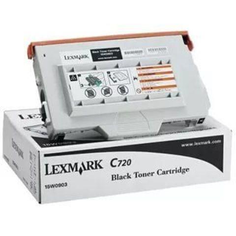 Картридж для принтеров Lexmark C720/X720 черный (black). Ресурс 12000 страниц (15W0903)