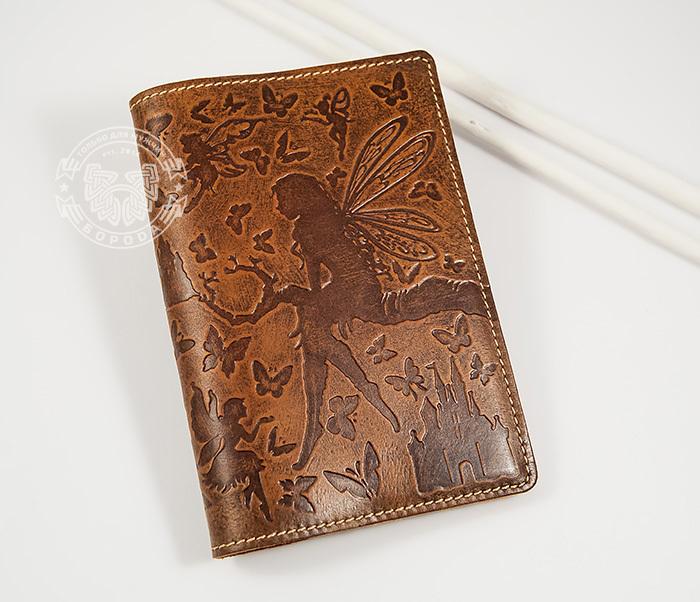 BY14-14-02 Прикольная обложка на паспорт «Фея» для прекрасных дам