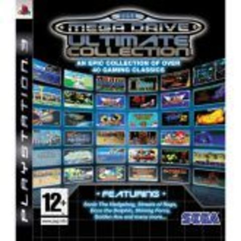 Sony PS3 SEGA Mega Drive Ultimate Collection (английская версия)