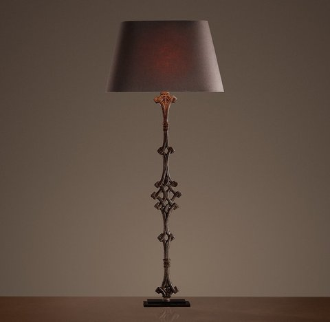 French Balcony Baluster Lamp