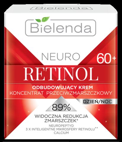 NEURO RETINOL Восстанавливающий крем-концентрат против морщин для лица день/ночь 60+ 50мл