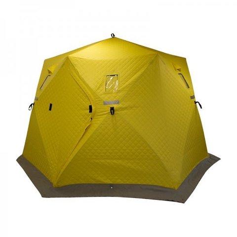 Палатка зимняя утепленная ЮРТА (yellow) Helios