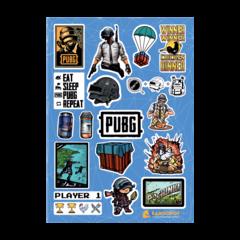 Набор стикеров PUBG