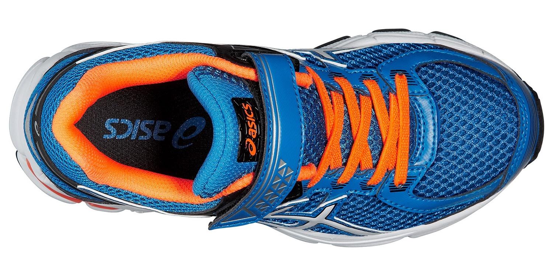 Детские беговые кроссовки для мальчика Asics GT-1000 4 PS (C556N 3901) синие фото