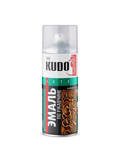 Краска аэрозоль серая темная 520мл Kudo Ku-1016