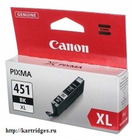 Картридж Canon CLI-451XL BK / 6472B001