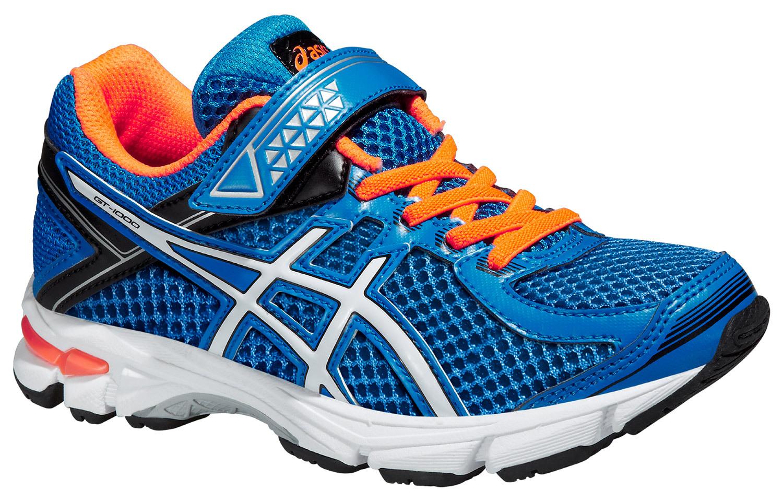 Детские кроссовки Asics GT-1000 4 PS (C556N 3901) синие фото