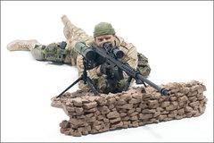 Милитари серия 1 фигурка Морская пехота США снайпер
