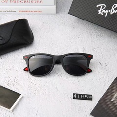 Очки Ray Ban Wayfarer RB4195 Black/Red