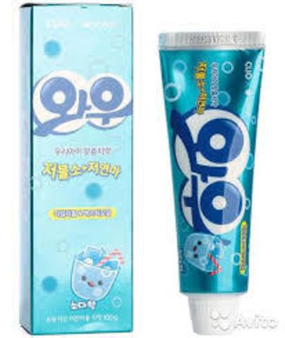 CLIO Зубная паста Wow Soda taste toothpaste 100гр