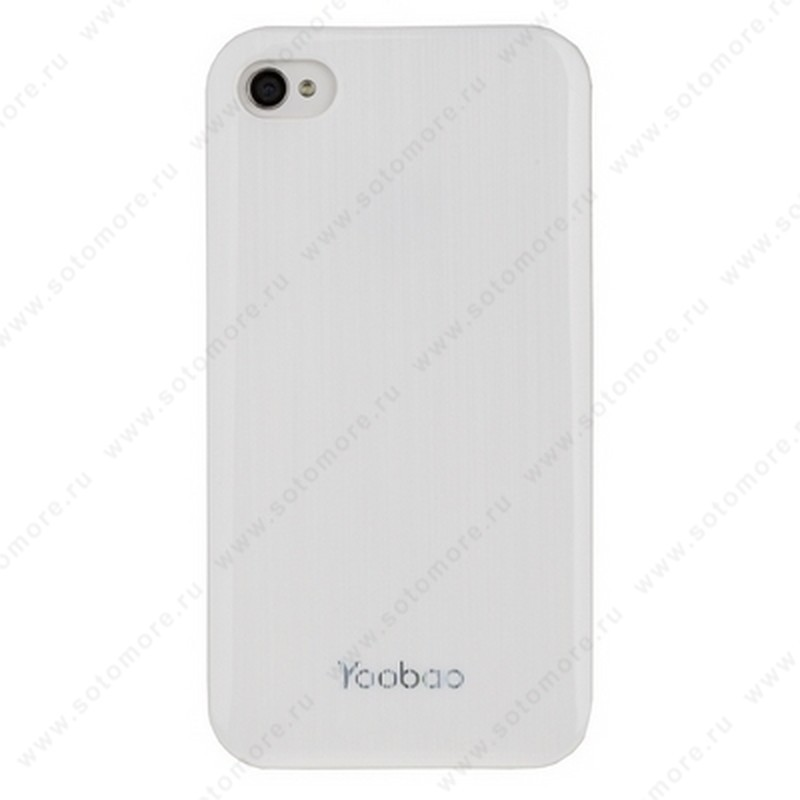 Накладка Yoobao для iPhone 4S/ 4 - Yoobao Filar Beauty Protect Case White