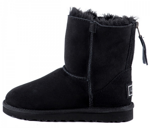 UGG Zip Mini Black