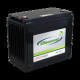 Тяговый аккумулятор Discover EV512A-150 ( 12V 150Ah / 12В 150Ач ) - фотография