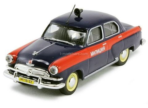 GAZ-21 Volga Police USSR 1:43 DeAgostini World's Police Car #8