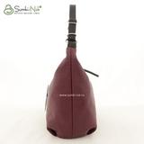 Сумка Саломея 500 антик винный + черный