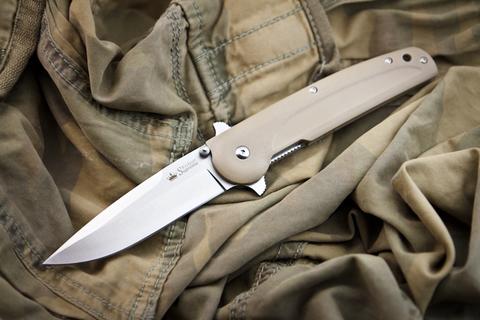 Складной нож Biker X 440C Satin с дополнительным замком!