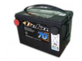 Аккумулятор автомобильный Deka 6101MF  ( 12V 70Ah / 12В 70Ач ) - фотография