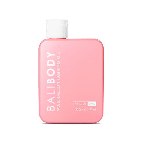 BALIBODY  Масло для усиления загара с экстрактом арбузных семян  с защитой SPF 6 Watermeleon Tanning Oil