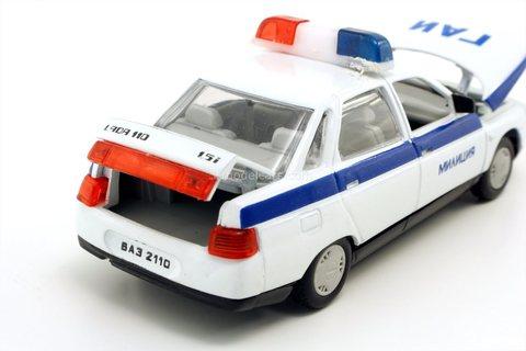 VAZ-2110 Lada GAI Police Agat Mossar Tantal 1:43