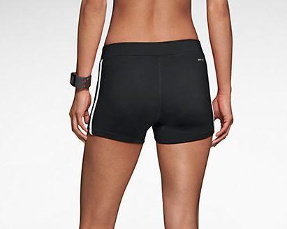 Женские шорты найк Tempo Boy Short black  (603642 012)