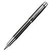 Parker IM Premium - Deep Gun Metal Chiselled CT, перьевая ручка, F